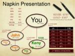 napkin presentation2