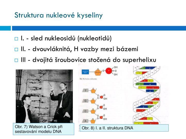 Struktura nukleové kyseliny