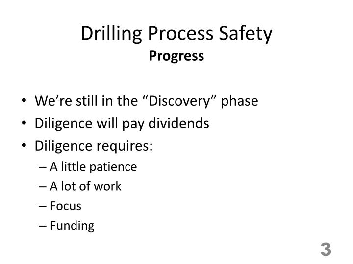 Drilling process safety2