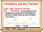 vocabulary and key concepts