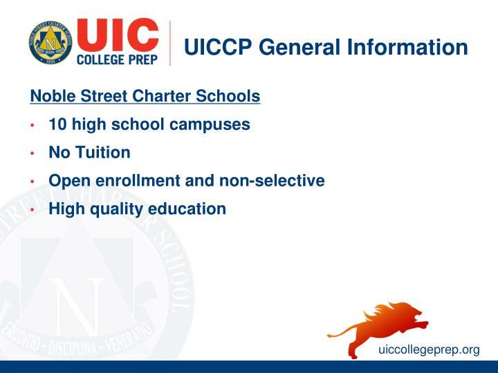 UICCP General Information