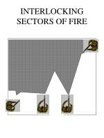 interlocking sectors of fire