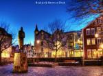 reykjavik streets at dusk