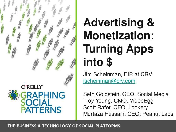 advertising monetization turning apps into n.