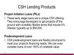 csh lending products1