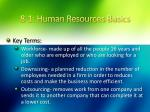 8 1 human resources basics