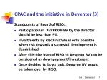 cpac and the initiative in deventer 3