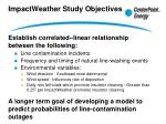 impactweather study objectives1
