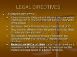 legal directives
