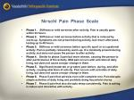 nirschl pain phase scale