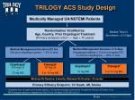 trilogy acs study design