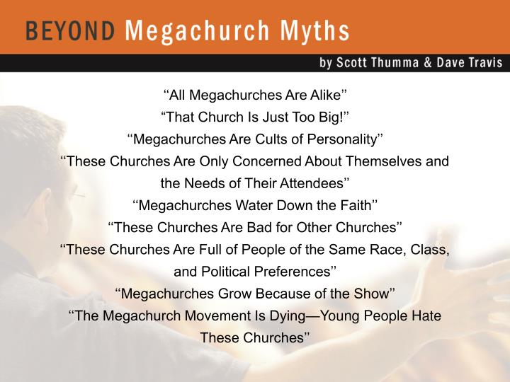 ''All Megachurches Are Alike''