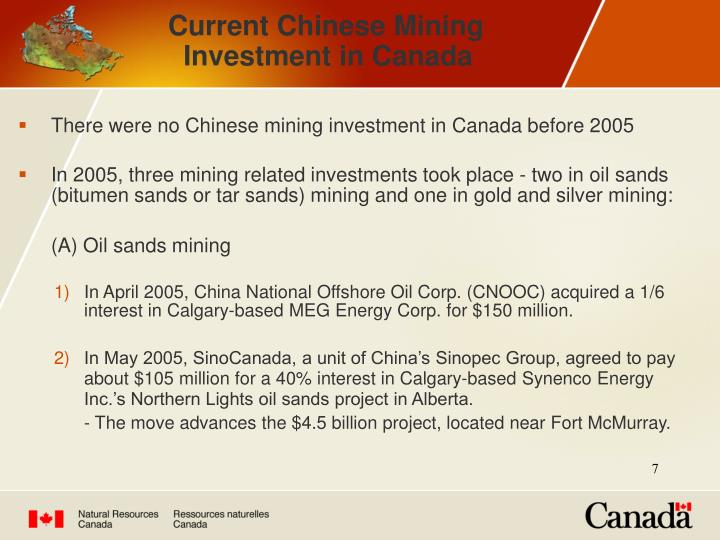 Current Chinese Mining
