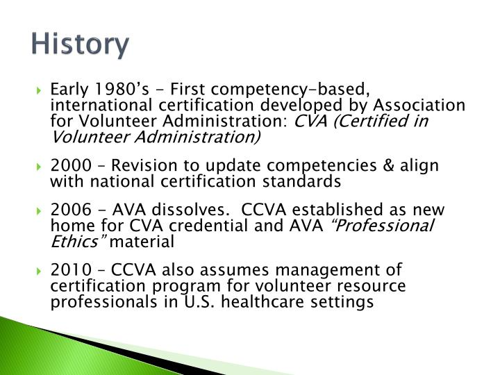 PPT - The CVA Credential: PowerPoint Presentation - ID:6706236