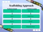 scaffolding approach
