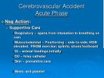 cerebrovascular accident acute phase1