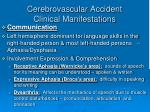 cerebrovascular accident clinical manifestations3