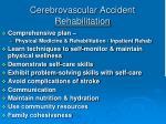 cerebrovascular accident rehabilitation1