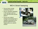 mo 4 street sweeping