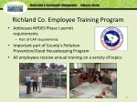 richland co employee training program