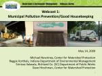 webcast 1 municipal pollution prevention good housekeeping1
