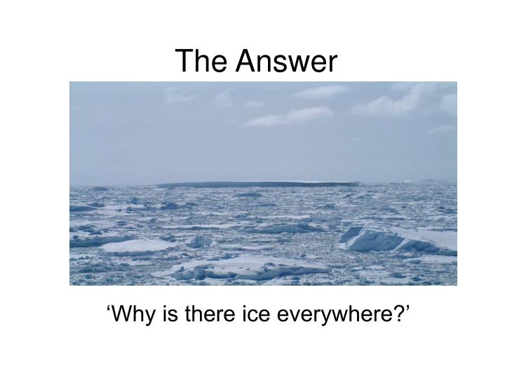 the answer n.