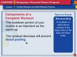 components of a complete workout7