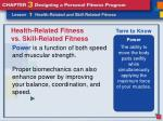 health related fitness vs skill related fitness11