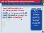 health related fitness vs skill related fitness7