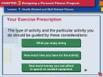 your exercise prescription12