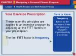 your exercise prescription3
