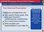 your exercise prescription4