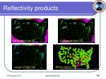 reflectivity products