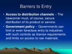 barriers to entry2
