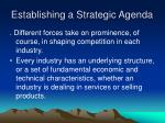 establishing a strategic agenda2