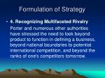 formulation of strategy3
