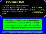 conceptual quiz11