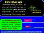 conceptual quiz15