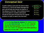 conceptual quiz17