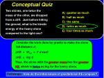 conceptual quiz9