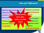 how will tam work