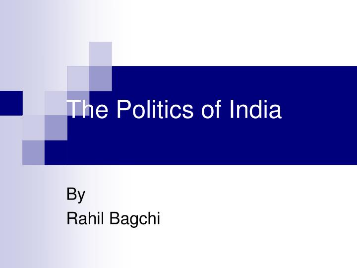 the politics of india n.