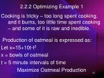 2 2 2 optimizing example 1