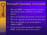 personal community assessment2