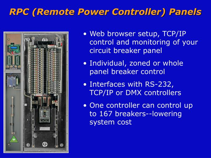 RPC (Remote Power Controller) Panels