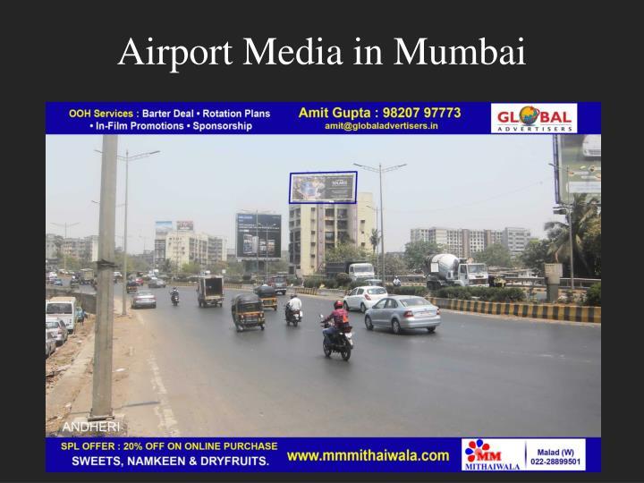 Airport media in mumbai