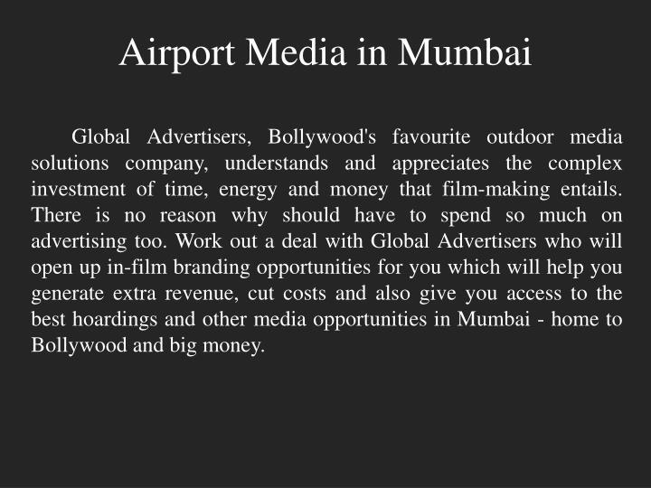 Airport media in mumbai1