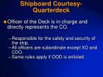 shipboard courtesy quarterdeck2