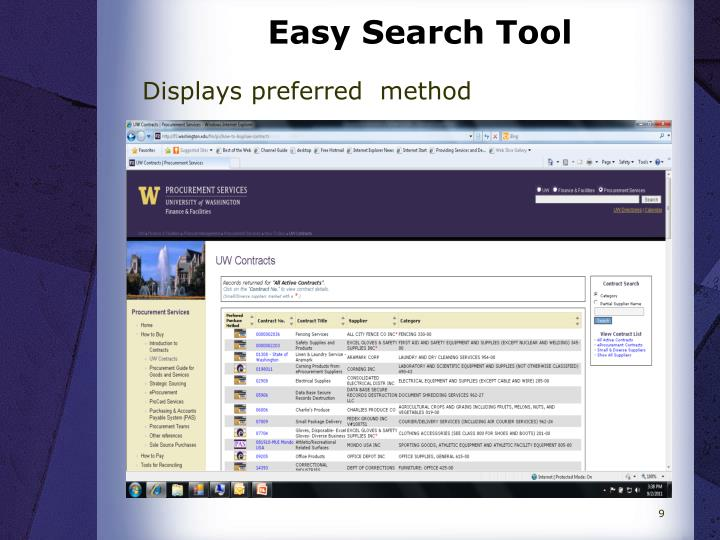 Easy Search Tool