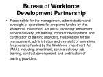 bureau of workforce development partnership1